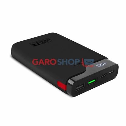 Immagine di POWER BANK 10000MAH FAST CHARGER 2USB+1 USB-C 15W BK