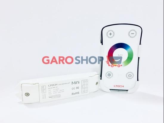 Immagine di KIT RGB CENTRALINA E TELECOMANDO PER STRISCE LED 12-24V