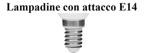 Immagine per la categoria LAMPADE LED ATTACCO E14