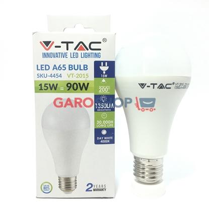 Immagine di V-TAC VT-2015 LAMPADINA LED E27 15W BULB A65