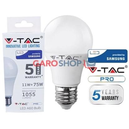 V-TAC PRO VT-211 LAMPADINA LED E27 11W BULB A58 CHIP SAMSUNG