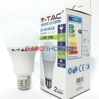 V-TAC VT-2112 LAMPADINA LED E27 11W BULB A60