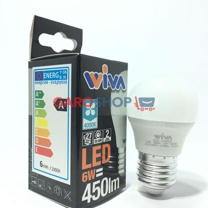 WIVA LAMPADINA LED E27 6W BULB A60