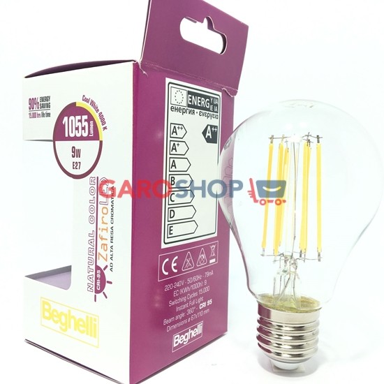 NATURAL COLOR ZAFIRO LED (CRI95) 9W E27
