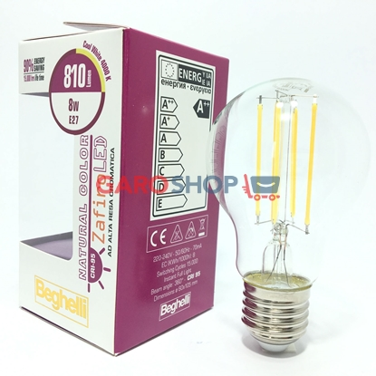 NATURAL COLOR ZAFIRO LED (CRI95) 8W E27