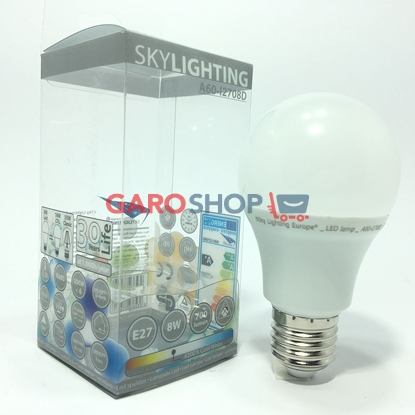 SKYLIGHTING LAMPADINA LED E27 8W BULB A60