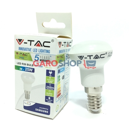 V-TAC PRO VT-239 LAMPADINA LED E14 3W BULB REFLECTOR R39 CHIP SAMSUNG
