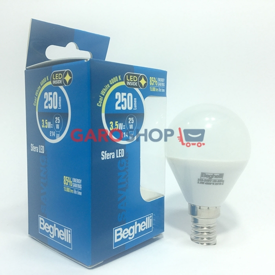 Beghelli Lampada Sfera LED Opale 3,5W