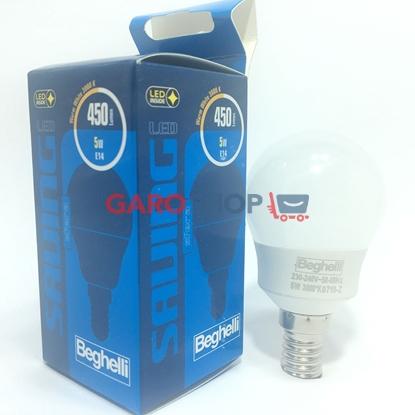 Beghelli Lampada Sfera LED Opale 5W E14