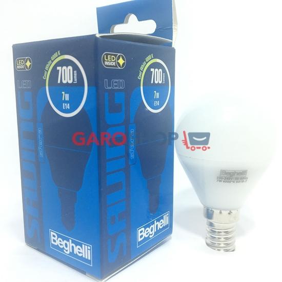 Beghelli Lampada Sfera LED Opale 7W E14