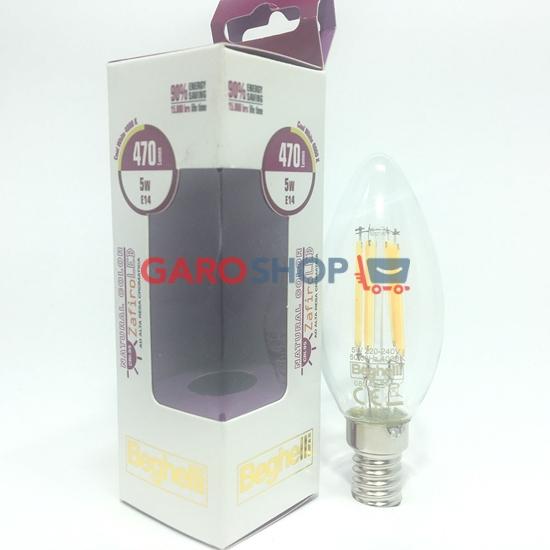 OLIVA NATURAL COLOR ZAFIRO LED (CRI95) 5W E14