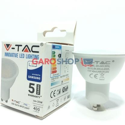 V-TAC PRO VT-205 LAMPADINA LED GU10 5W FARETTO SPOTLIGHT CHIP SAMSUNG