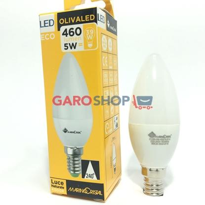 MARINO CRISTAL SERIE ECO LAMPADINA LED E14 5W CANDELA