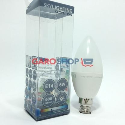 SKYLIGHTING LAMPADINA LED E14 6W CANDELA